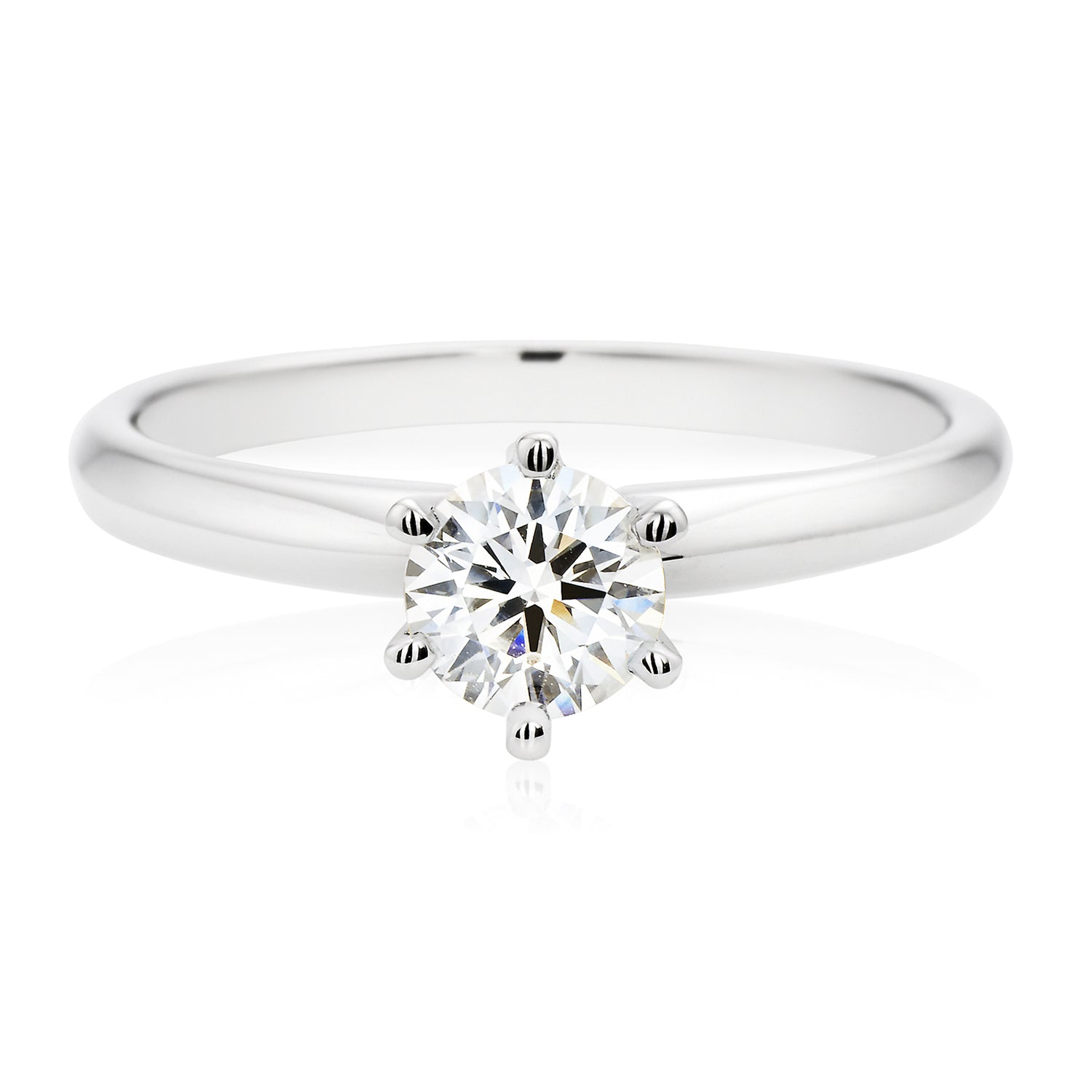 Promise 18ct White Gold Round Brilliant Cut with 0.70 CARAT of Diamonds