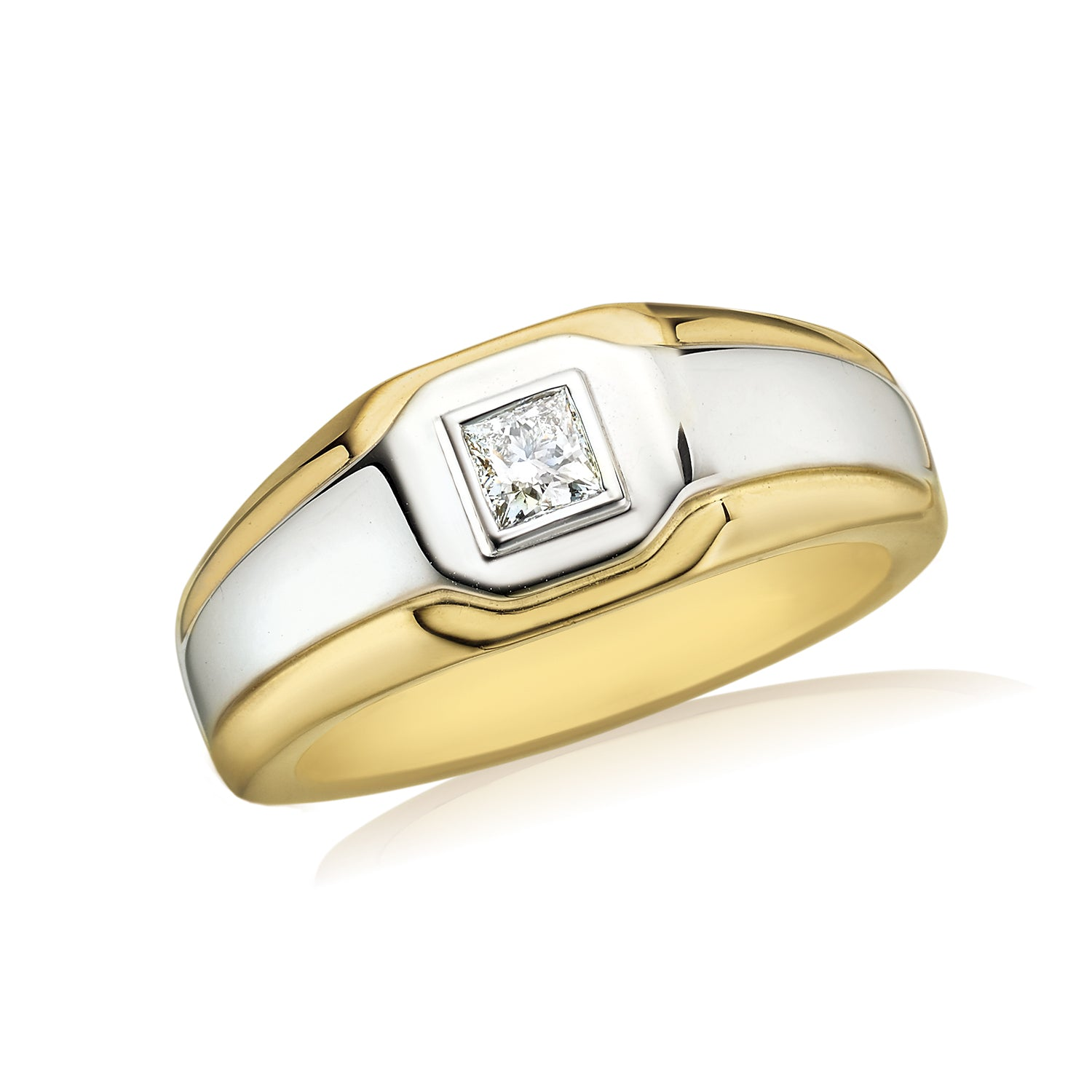 Rand 18ct Two Tone Gold with 0.30 CARAT tw of Diamonds