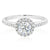 Forevermark 18ct White Gold Round Brilliant Cut with 0.94 CARAT tw of Diamonds