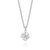 Forevermark 18ct White Gold Round Brilliant Cut with 1/3 CARAT tw of Diamond Pendant