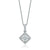 Rand 18ct White Gold Round Brilliant Cut with 1/2 CARAT tw of Diamonds