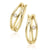 9ct Yellow Gold Round Brilliant Cut with 0.05 CARAT tw of Diamonds