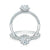 Forevermark 18ct White Gold Round Brilliant Cut with 1 CARAT tw of Diamonds