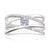 Forevermark 18ct White Gold Round Brilliant Cut with 1/2 CARAT tw of Diamonds