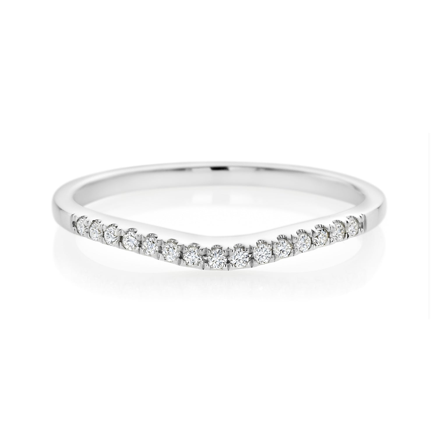 Forevermark 18ct White Gold Round Brilliant Cut with 0.10 CARAT tw of Diamonds