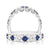 Vera Wang Love 18ct White Gold Round Brilliant Cut with 0.65 CARAT tw of Diamonds