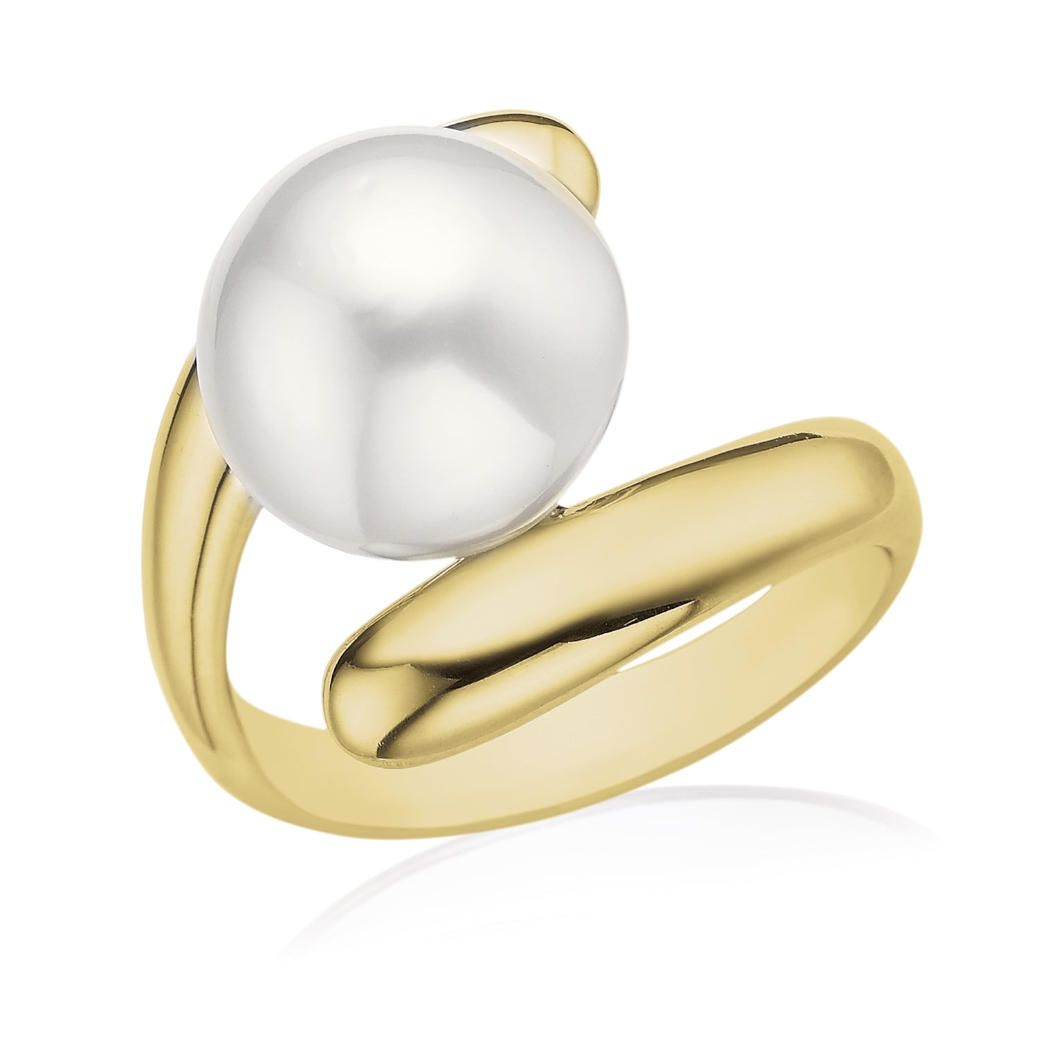 9ct Yellow Gold 11mm South Sea Pearl
