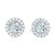Forevermark 18ct White Gold Round Brilliant Cut with 0.55 CARAT tw of Diamonds