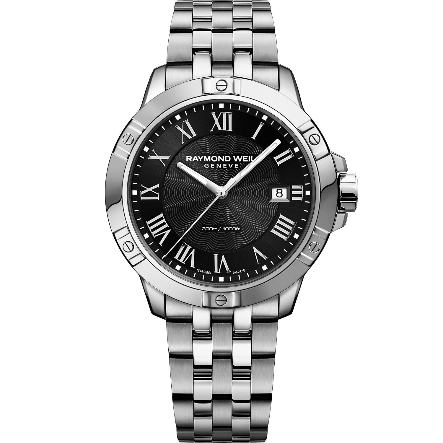 Tango Classic Men's Quartz Black Steel Bracelet Watch 8160-ST-00208