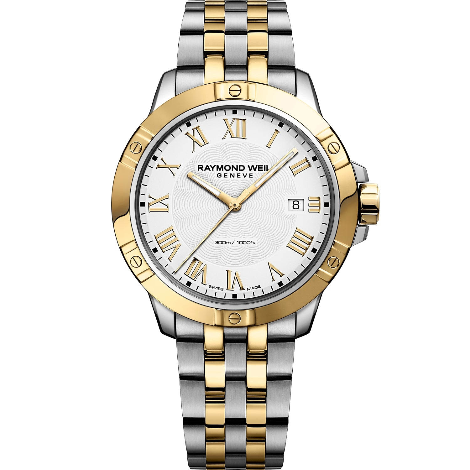Tango Classic Men's Quartz Two-tone Gold Steel Bracelet Watch 8160-STP-00308