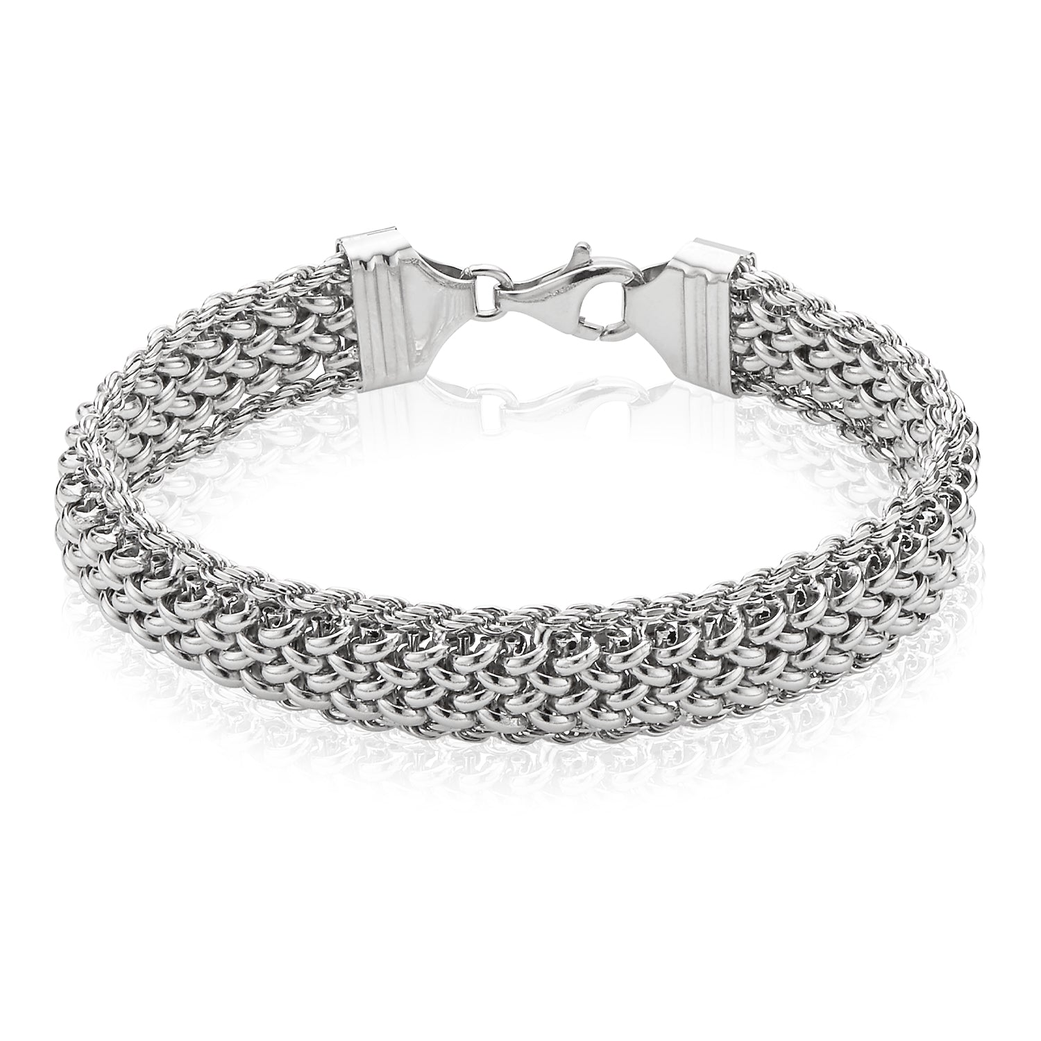 Sterling Silver 19cm Fancy