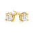 Promise 18ct Yellow Gold Round Brilliant Cut with 1/2 CARAT of Diamonds