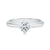 Forevermark 18ct White Gold Rings with Round Brilliant Cut 0.70 Carat Of Diamonds
