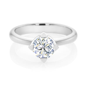 Forevermark 18ct White Gold Round Brilliant Cut with 1 CARAT of Diamonds