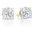 Forevermark 18ct Yellow Gold Round Brilliant Cut with 1/2 CARAT tw of Diamonds