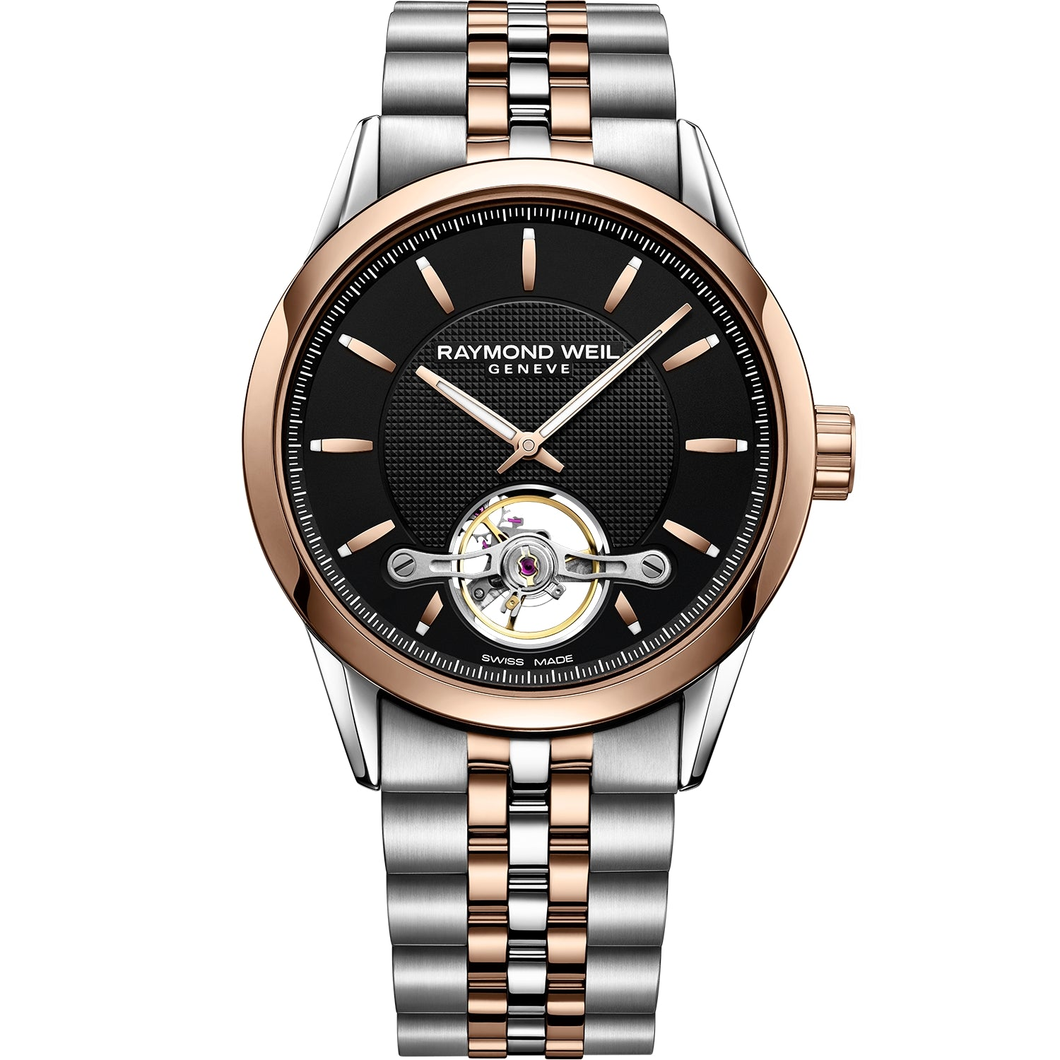 Freelancer RW1212 Men's Rose Gold Open Aperture Watch 2780-SP5-20001