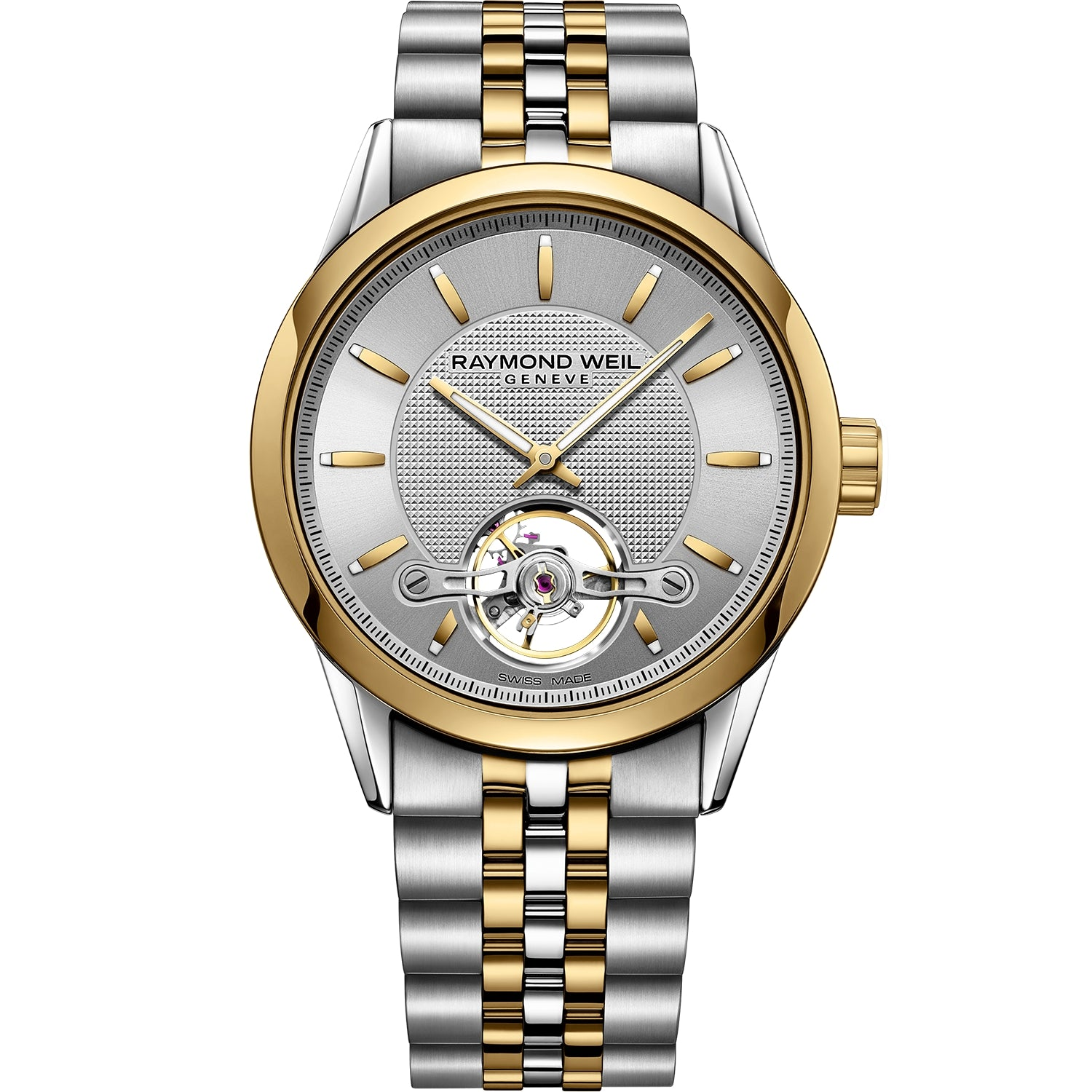 Freelancer Men's Automatic Calibre RW1212 Gold Silver Watch 2780-STP-65001