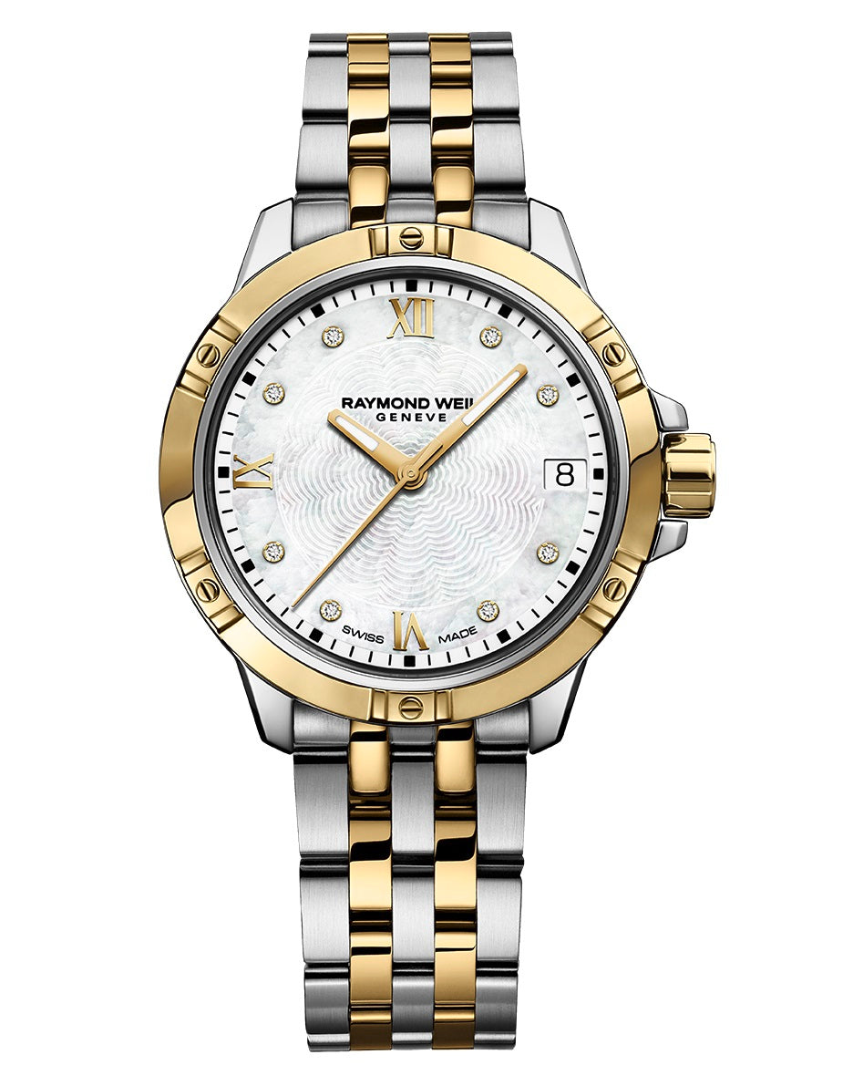 Tango Classic Ladies Quartz Gold Two-Tone Stainless Steel Diamond Watch 5960-STP-00995
