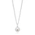 Vera Wang Love Sterling Silver Fresh Water Pearl & Sapphire