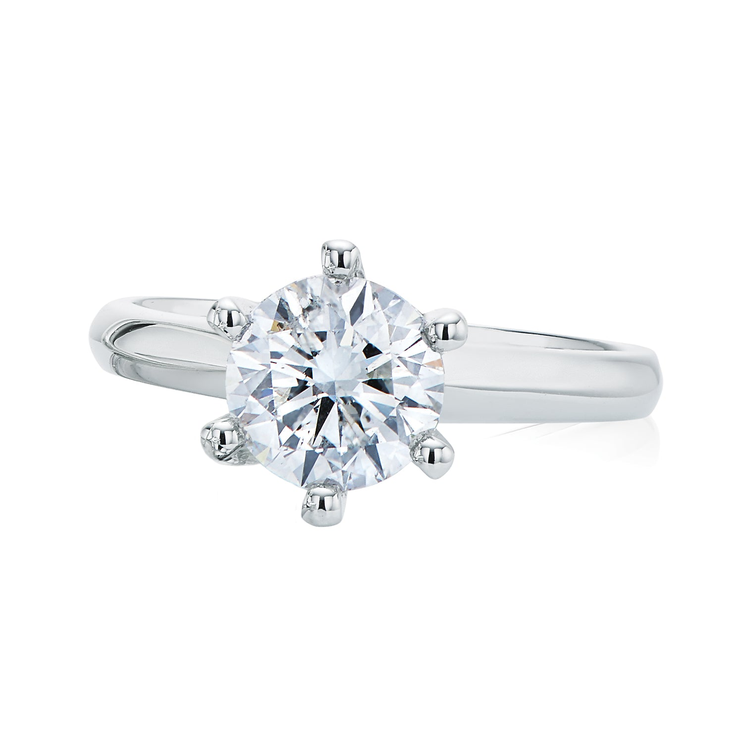 Promise 18ct White Gold Round Brilliant Cut with 1 1/2 CARAT of Diamonds