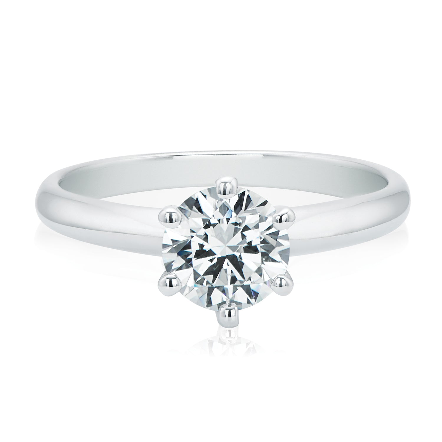 Promise 18ct White Gold Round Brilliant Cut with 1.20 CARAT of Diamonds