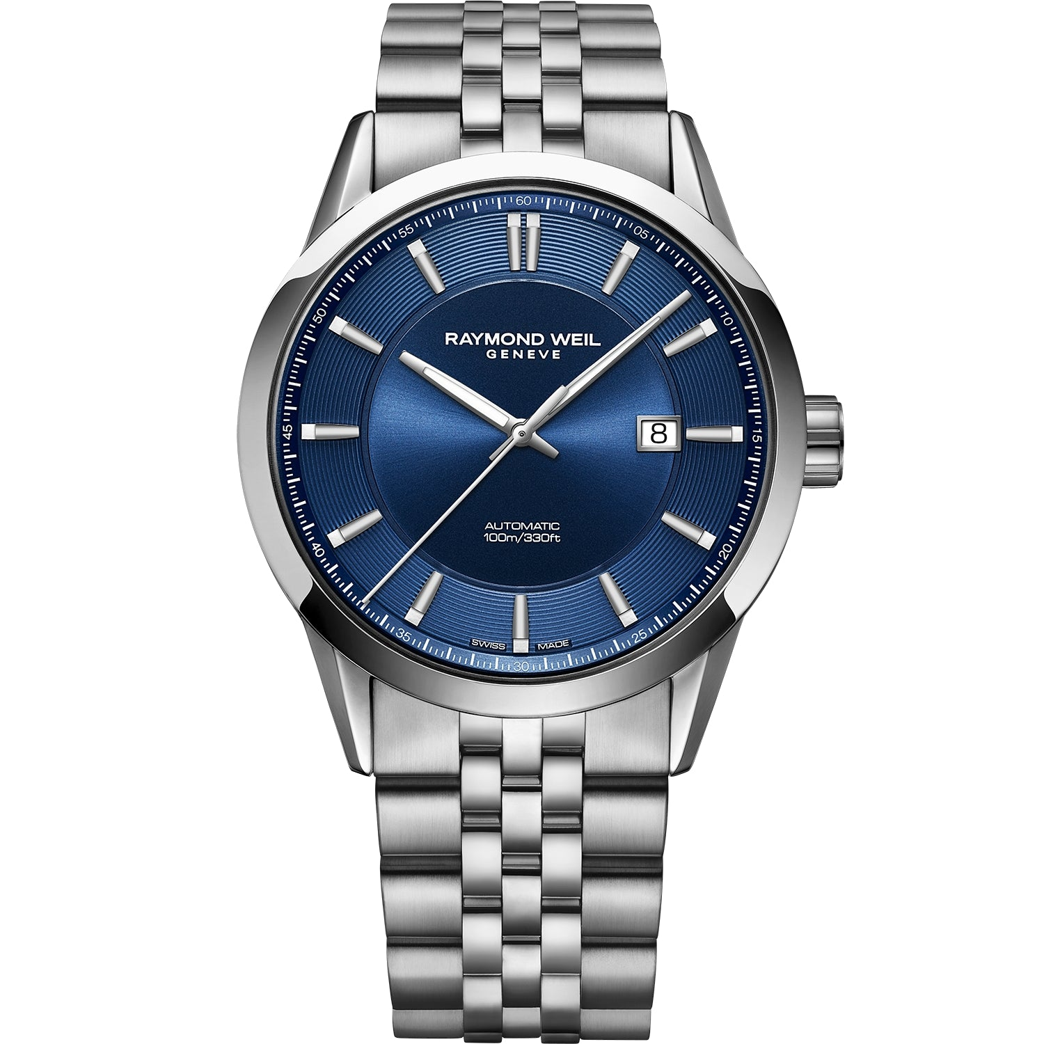 Freelancer Men's Automatic Blue Dial Stainless Steel Bracelet Watch 2731-ST-50001