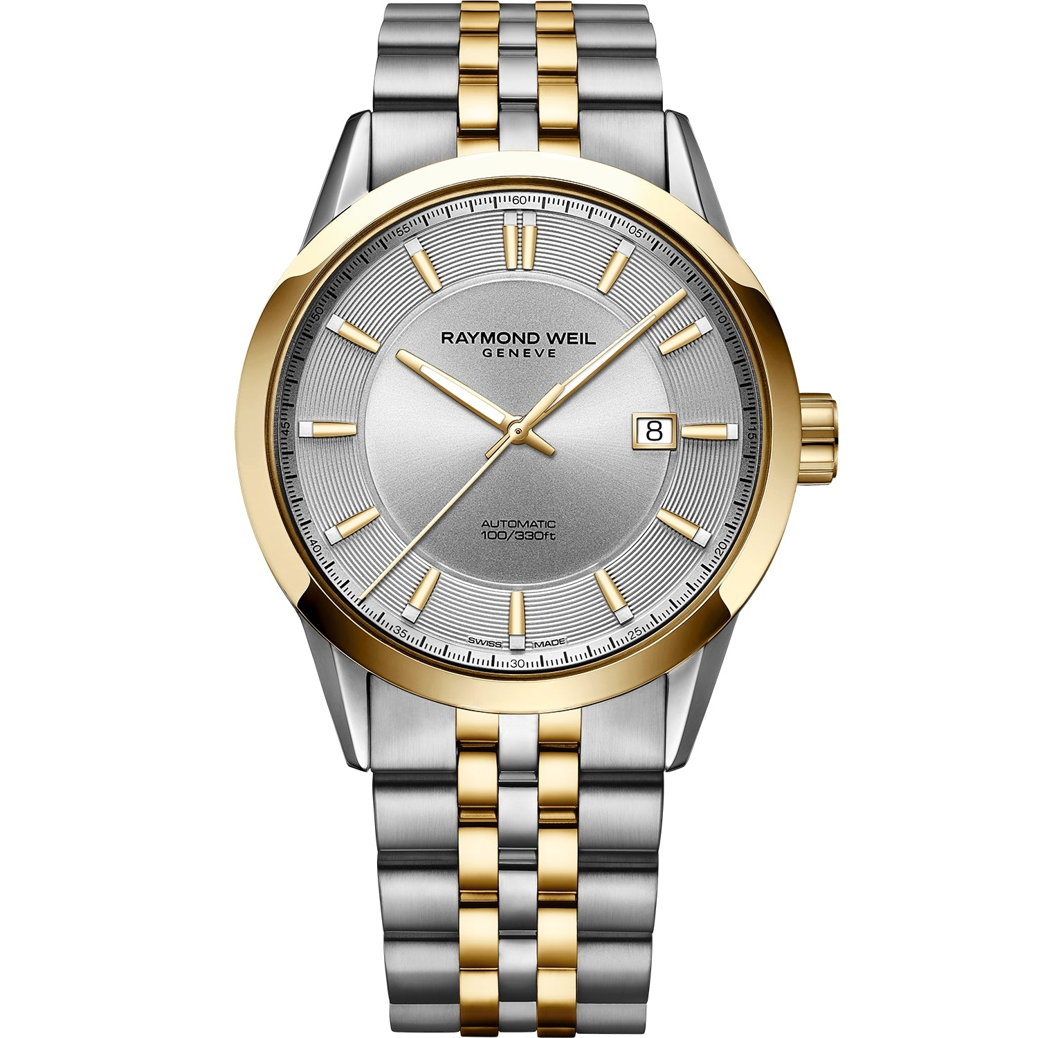 Freelancer Men's Automatic Classic Two-Tone Yellow Gold Date Watch 2731-STP-65001
