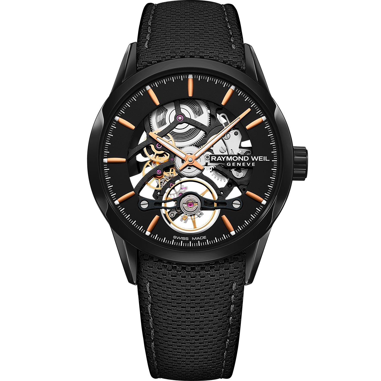 Freelancer Calibre RW1212 Skeleton Men's Automatic Black Watch 2785-BC5-20001