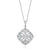 Chandelier Collection 9ct White Gold Round Brilliant Cut with 0.40 CARAT tw of Diamonds
