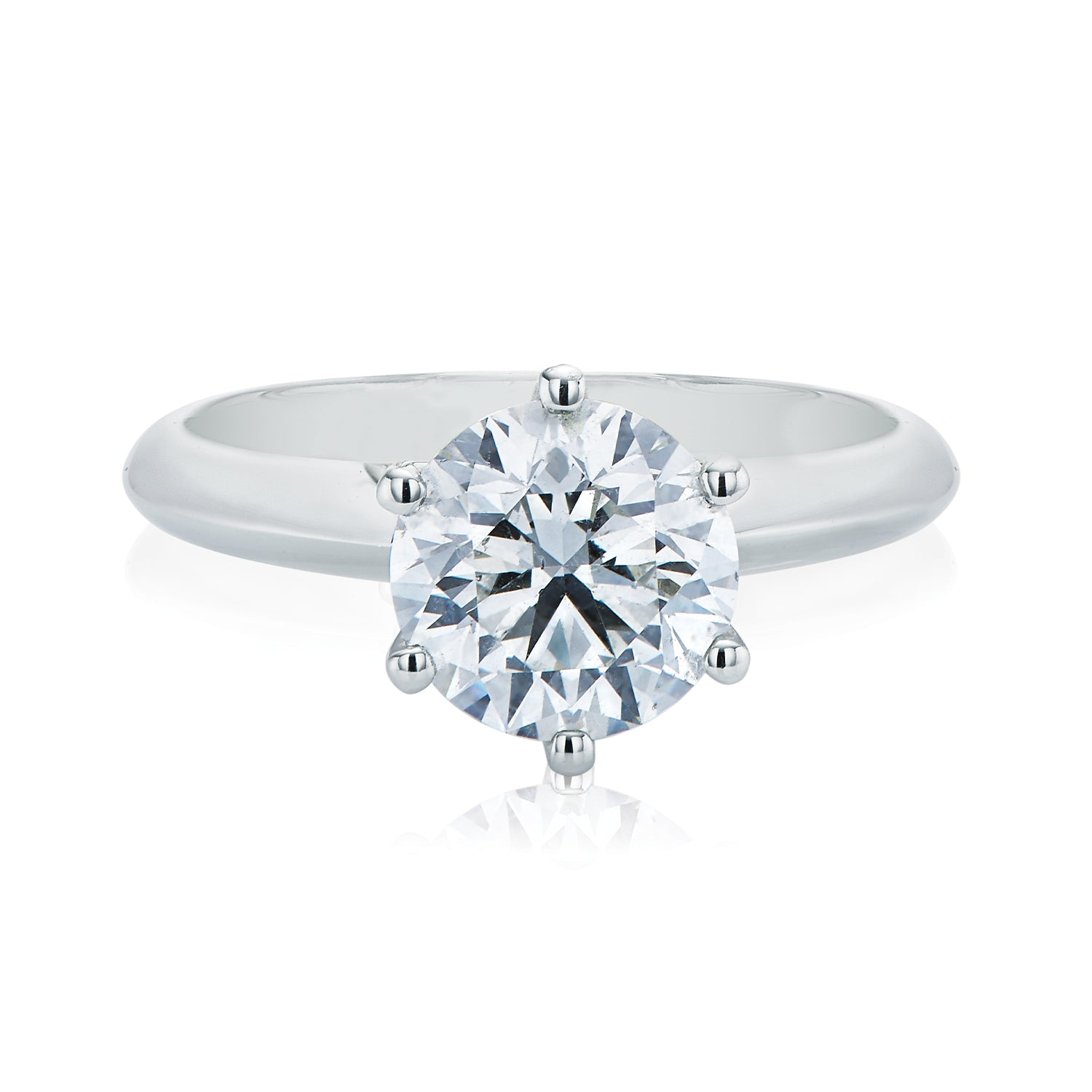 Promise 18ct White Gold Round Brilliant Cut with 2 CARAT of Diamonds