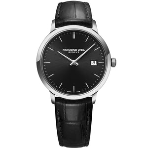 Toccata Men's Classic Black Dial Quartz Watch 5485-STC-20001