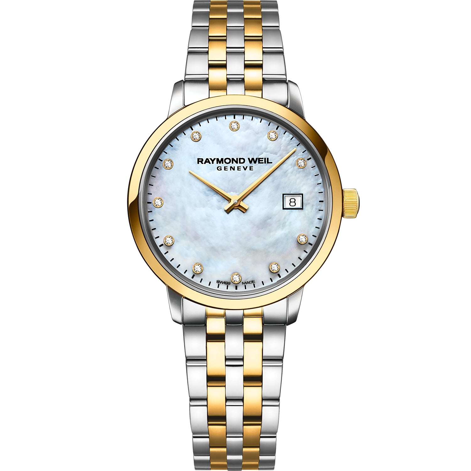Toccata Ladies Quartz Two-tone Gold 11 Diamond Watch 5985-STP-97081