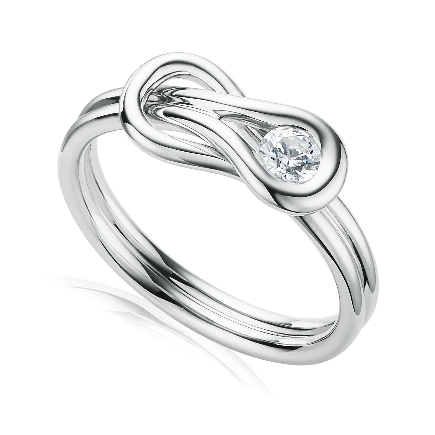 Forevermark 18ct White Gold Round Brilliant Cut with 0.18 CARAT of Diamonds