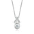 Forevermark 18ct White Gold Round Brilliant Cut with 0.18 CARAT of Diamond Pendant