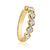 Forevermark 18ct Yellow Gold Round Brilliant Cut with 0.70 CARAT tw of Diamonds