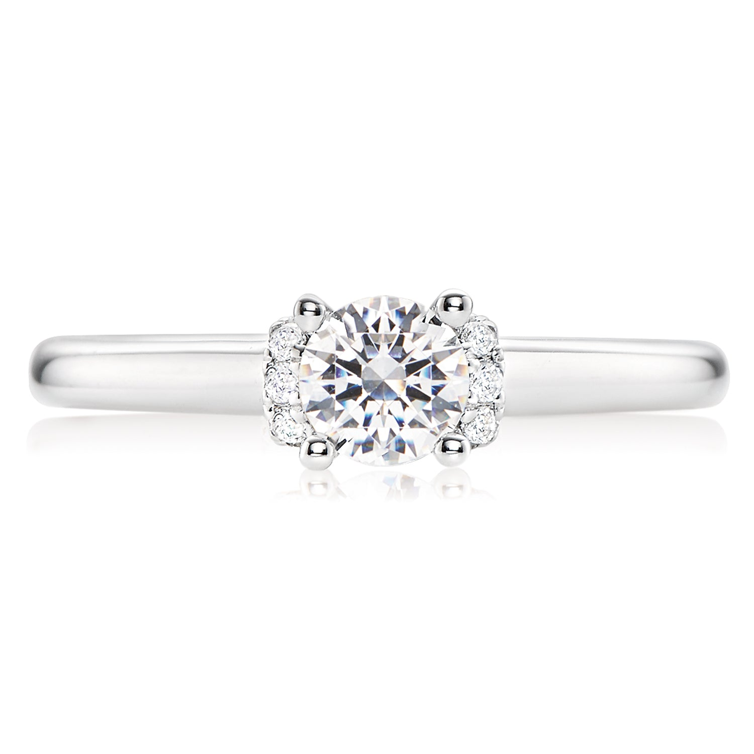Vera Wang Love 18ct White Gold Round Brilliant Cut with 0.55 CARAT tw of Diamonds