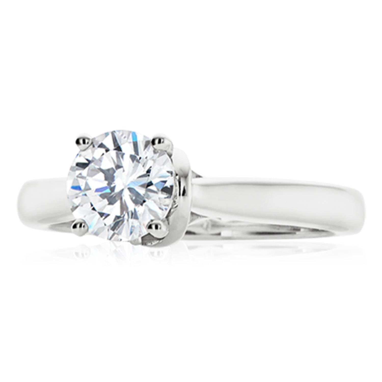 Vera Wang Love 18ct White Gold Round Brilliant Cut with 0.70 CARAT of Diamonds