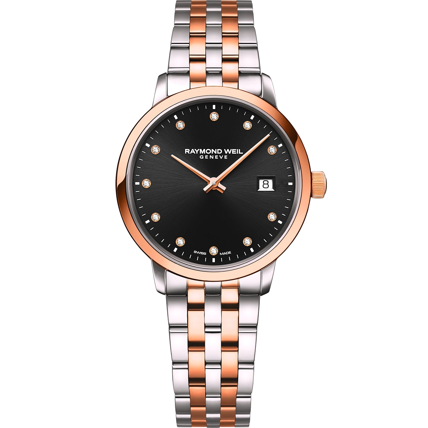 Toccata Ladies Quartz Two-tone Gold 11 Diamond Watch 5985-SP5-20081