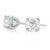 9ct White Gold Round Brilliant Cut with 1 1/2 CARAT tw of Diamonds