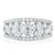9ct White Gold Marquise & Round Brilliant Cut with 1.75 CARAT tw of Diamonds