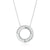 9ct White Gold  with 1/4 CARAT tw of Diamond Pendant