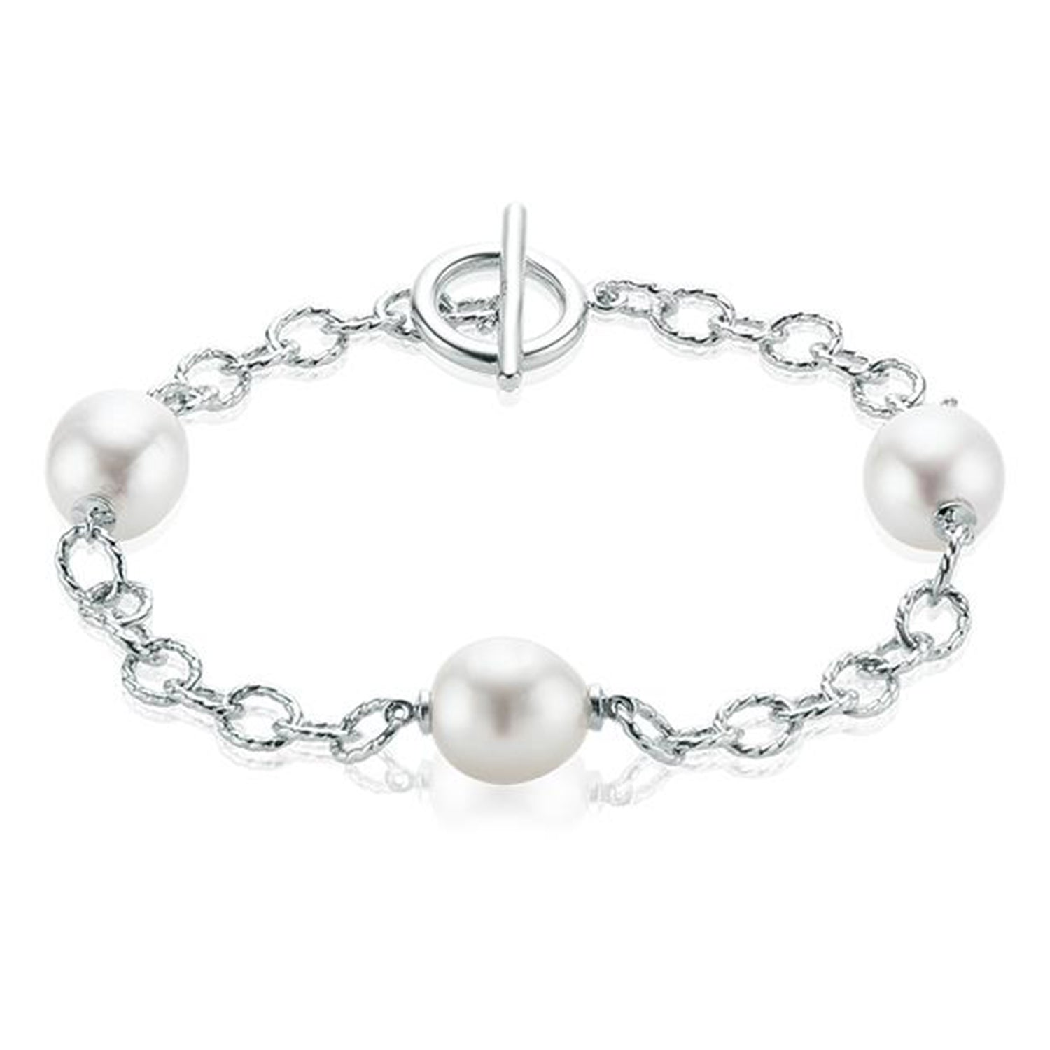 Sterling Silver    South Sea Pearl