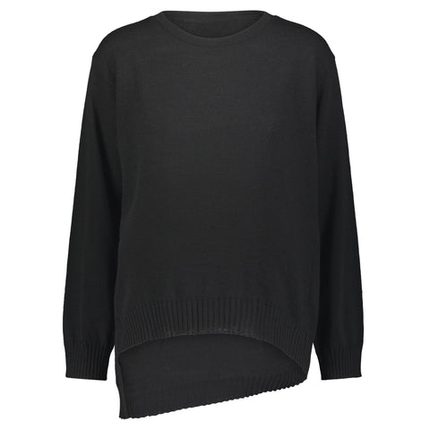 Sweater with Angle Bottom