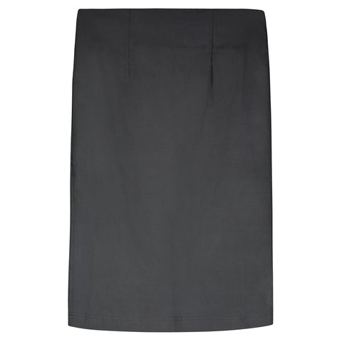 Black Stretch Pencil Skirt