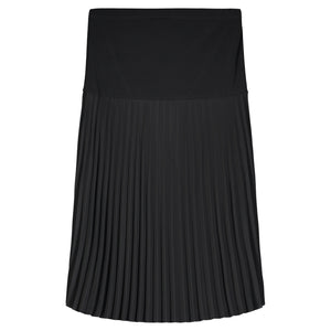 Sunburst Pleated Midi Skirt