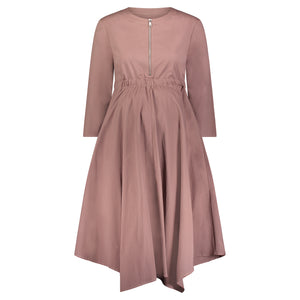 Kaily Pointed Hem Dress