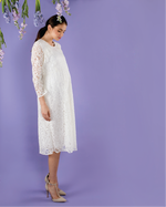 Load image into Gallery viewer, Lace Empire Dress