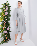 Load image into Gallery viewer, Kaily Pointed Hem Dress