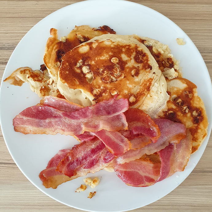 RECIPE: Pandemic Pancakes! (makes ten-ish)