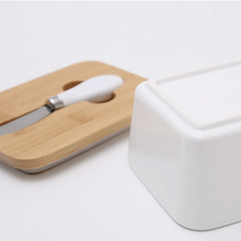 Load image into Gallery viewer, Cute Ceramic Butter Box